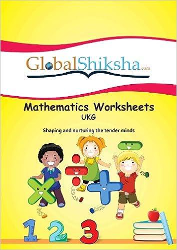 buy worksheets for ukg  maths book online at low prices in india  worksheets for ukg  maths loose leaf