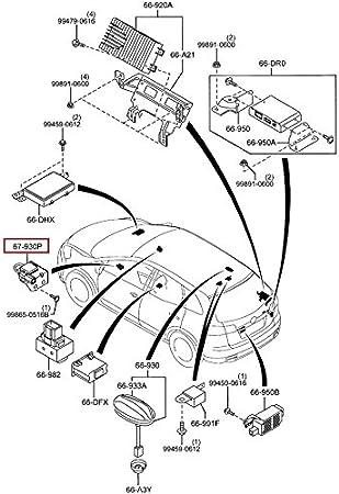 2007 2008 2009 2010 2011 2013 2014 2015 Mazda CX9 fuel cap oem new!!!