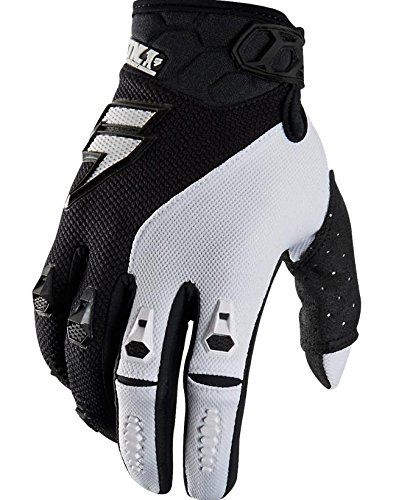 Shift Racing Faction Mainline Men's Off-Road Motorcycle Gloves - Black/White/X-Large