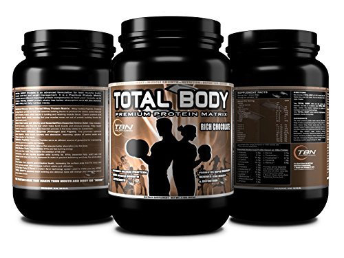 TBN Labs #1 TOTAL BODY PROTEIN is an advanced formulation for Lean Muscle Build, Muscle Definition and Weight Management. It is a Premium Protein Matrix contains seven different important protein, Flavor: Vanilla Cream, Net Wt: 2lbs, Serbing Size: 30g, Total Servings: 30.