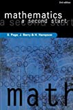 img - for Mathematics: A Second Start by S Page (2002-09-01) book / textbook / text book