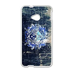 ZXCV Creative Skull Custom Protective Hard Phone Cae For HTC One M7