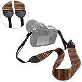 Camera Shoulder Neck Strap, Belt for All DSLR Cameras Nikon Canon Sony Olympus Samsung Pentax (Colorful)