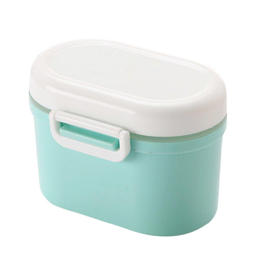 S Rose Yangyme Beh/älter S/ü/ßigkeiten-Obst-Box Formel Milchpulverspender Snackbeh/älter Lebensmittelaufbewahrung BPA-frei tragbar f/ür Kinder