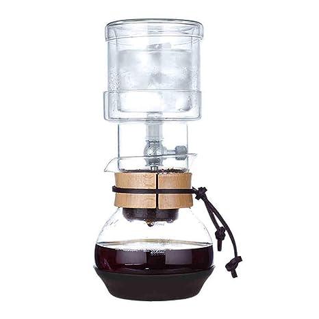 Be82aene 400 ML Goteo de Agua Fabricante de café Herramientas de Filtro Reutilizables Vidrio Café expreso