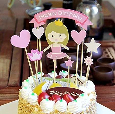 PureArte - Decoración para tarta de cumpleaños, diseño de ...