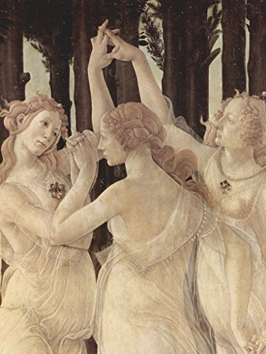 Three Graces Botticelli - Lais Jigsaw Sandro Botticelli - Spring (Primavera), detail: Three Graces 500 Pieces