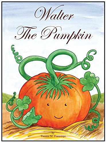 Walter the Pumpkin (Making A Halloween Pumpkin)