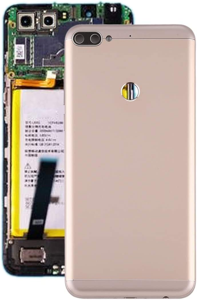 SHUGUO Flex Cable Repair Parts Battery Back Cover for Lenovo K5 Note (Color : Gold)