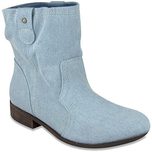 Sugar Womens INTUIT Western Inspired Slouch Boot