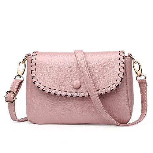 Pequea Pink Bolsa Bolso Cuadrada Silln Bandolera WLFHMcompany Femenino De Bolsa 8qxwzTH