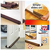 Twin Door Draft Dodger Guard Stopper For Doors Windows Protector Doorstop Window