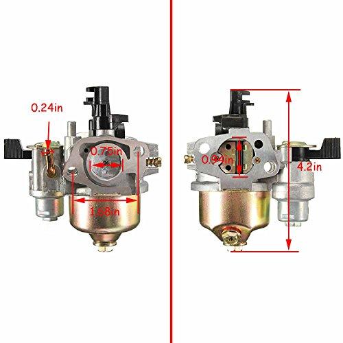 FYIYI New GX120 Carburetor for Honda GX120 GX140 GX160 GX168 GX200 Small Engine by FYIYI (Image #1)