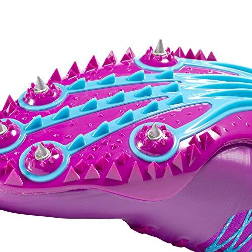 Nike Zoom Celar Spor Pigger Sko Hyper Fiolett / Gamma Blå Menns