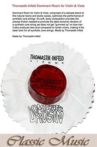 Classic Music ! Thomastik-Infeld Dominant Rosin for Universa Violin,Viola