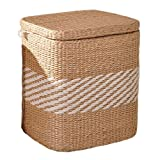 Seat Cushion Storage Underwear Environmental Storage Box Can Bear a Weight of 150 kg Storage Box Finishing Box Environmental Protection Furniture Accessories (Color : Wood, Size : 322540cm)