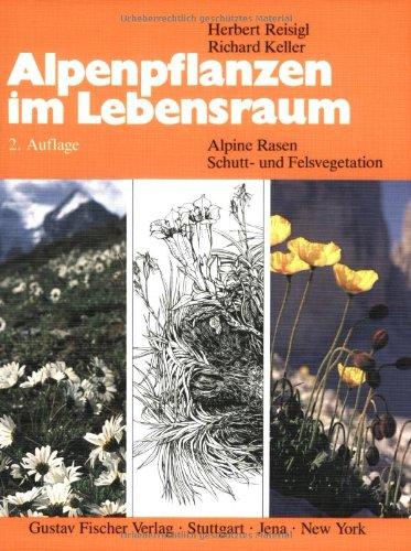 Alpenpflanzen im Lebensraum: Alpine Rasen-, Schutt- und Felsvegetation. Vegetationsökologische Informationen für Studien, Exkursionen und Wanderungen