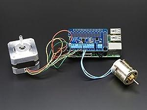 Adafruit DC & Stepper Motor HAT for Raspberry Pi - Mini Kit from Adafruit