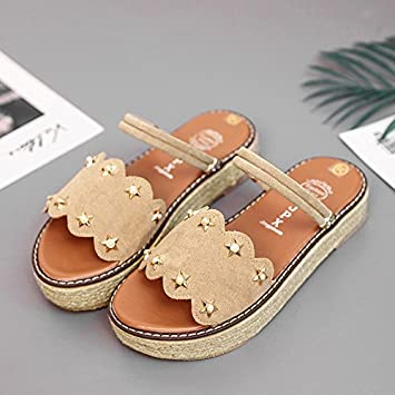 79e5c412d64f19 LGK FA Summer Women S Sandals Summer Cool Slippers Summer Fashion Thick  Bottom Students Two Wear Ladies Shoes
