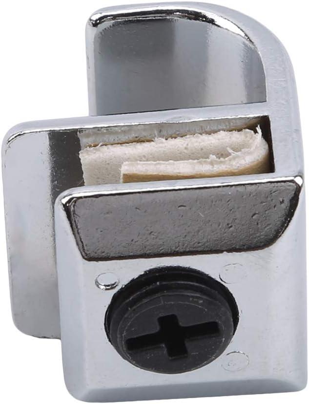 2,5 cm Yesiidor-Glasklemme mit verschiedenen Griffen Durchschlagsfreier Hardware-Griff f/ür Kleiderschrank Schuhkarton Kreatives Multifunktionszubeh/ör f/ür das B/üro zu Hause 2,5