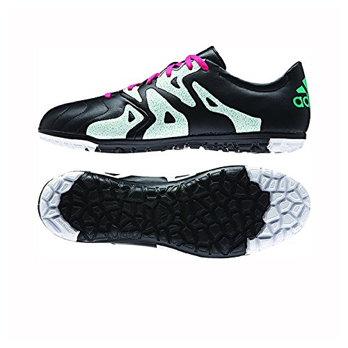 Adidas Kvinners X 15,3 Tf Svart / Sjokk Rosa / Sjokk Mint