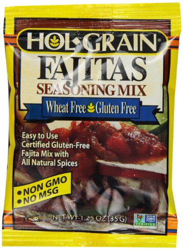 Price comparison product image Hol Grain Fajitas Seasoning Mix,  1.25 Ounce (Pack of 12)