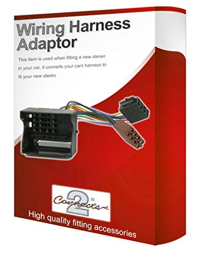 Ford Kuga radio stereo wiring harness adapter lead loom: Amazon.co.uk: Electronics
