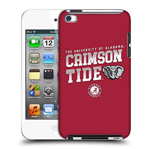 Official University of Alabama UA Crimson Tide Hard Back Case Compatible for Apple iPod Touch 4G 4th Gen Alabama Crimson Tide Ipod