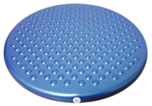 Jr. Inflatable Seat Cushion with Pump, 31cm/12in Diameter for Kids, Blue