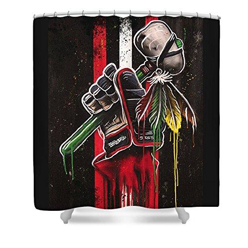 nhl shower curtain - 5