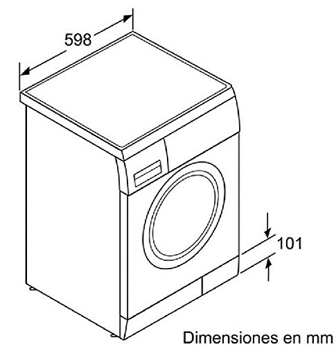 Balay 3TS863XA Independiente Carga frontal 6kg 1000RPM A+++ Gris ...