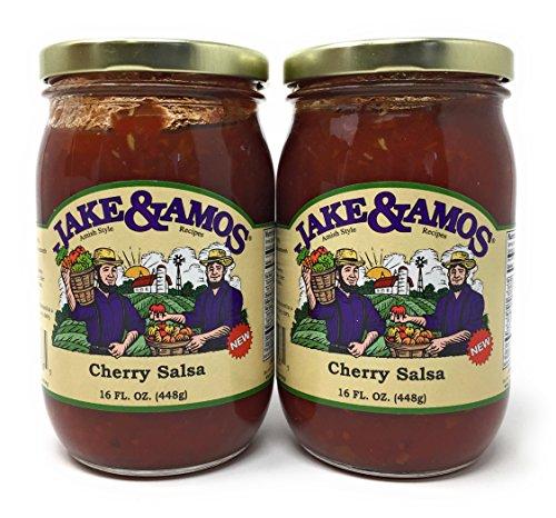 - Jake & Amos Cherry Salsa / 2 - 16 Oz. Jars