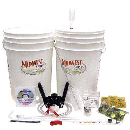 Hard Cider Kit - Midwest Supplies Cider Essentials Kit - Fermentation And Testing Equipment For Making Homemade Hard Cider