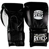 Cleto Reyes Hook & Loop Training Gloves - Velcro - Black 14-Ounce
