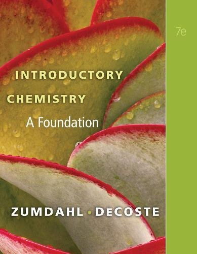 Introductory Chemistry: A Foundation (Available Titles - 2010 Advantage Math