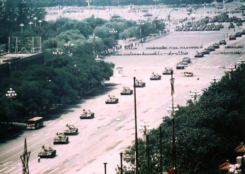 1995 TIANANMEN SQUARE PROTESTS MASSACRE GLOSSY POSTER PICTURE PHOTO BANNER