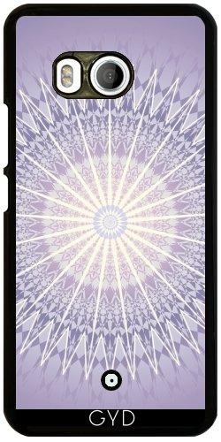 Funda para Htc U11 - Mandala Geométrica Púrpura by Nina Baydur