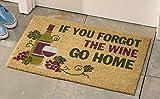 grape bath mat - Decorative Wine Coco Mat Tuscan Grape Vineyard Wine Kitchen Home Accent Rug Runner Decor