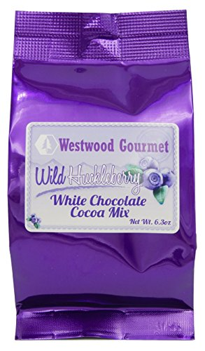 Westwood Gourmet Flavored Hot Cocoa Mix, 6.3 Ounce Bag (Wild Huckleberry White Chocolate)
