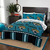 """NFL Jacksonville Jaguars """"Rotary"""" Queen Bed In a"""