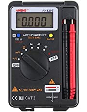 GorNorriss Electronics Gadgets LCD Mini Auto Range AC/DC Pocket Digital Multímetro herramienta de probador de voltímetro