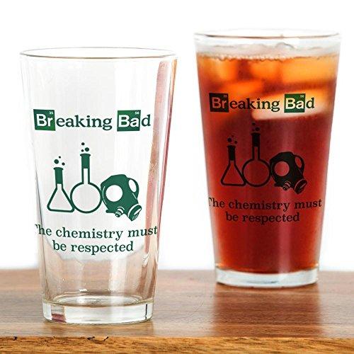 CafePress Breaking Bad Chemistry Pint Glass, 16 oz. Drinking Glass