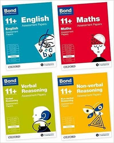 Bond 11+: English, Maths, Non-verbal Reasoning, Verbal Reasoning: Assessment Papers: 7-8 years Bundle