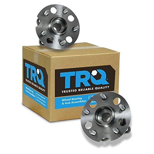 TRQ Rear Wheel Hub & Bearing Pair Set for Toyota 4WD 4x4 AWD