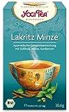 NEU! Yogi Tee Lakritz Minze, egyptian spice, 4er SPARPACK, je 17 Teebeutel a 30,6g