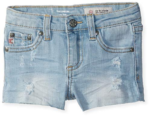 AG Kids Adriano Goldschmied Baby Girls The Shelby Short, Sky, 18M ()