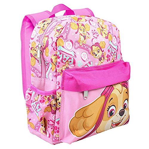 - Paw Patrol Allover Print Skye 12 inch Girls Small Backpack