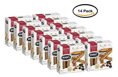 PACK OF 14 - Nonni's Cioccolati Biscotti - 8 CT by Nonni's