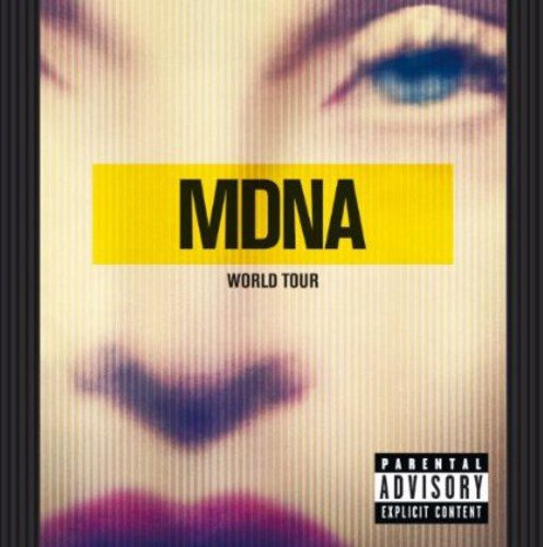 CD : Madonna - Mdna Tour (Holland - Import, 2 Disc)