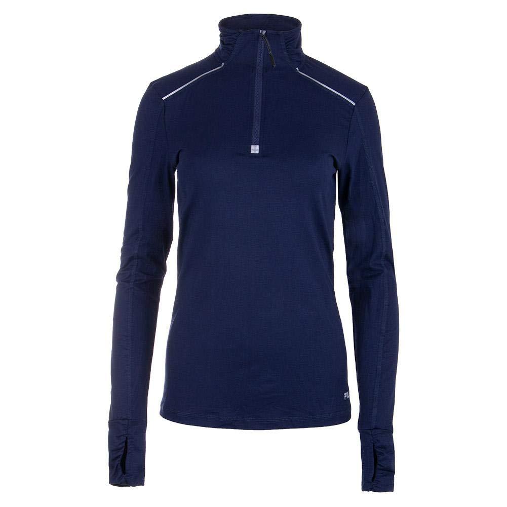 Fila-Women`s Half Zip Tennis Jacket-(789482730178)